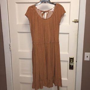 LC Mustard Midi Dress